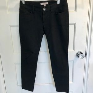 Black BR Sloan fit skinny ankle pants 0P